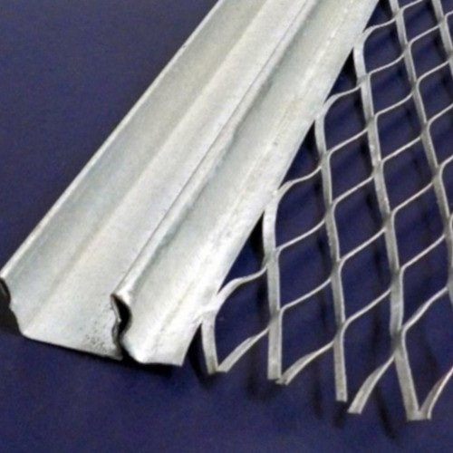 13mm Galvanised Steel Architrave Feature Bead - Abutting - 3m
