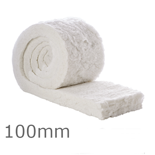100mm ThermaFleece SupaLoft Itch Free Loft Insulation Roll 370mm wide (pack of 3)