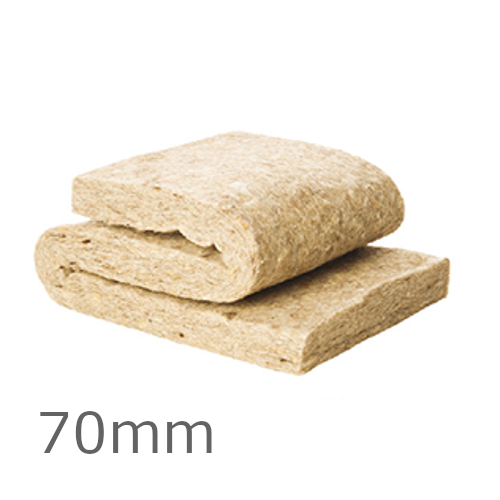 70mm ThermaFleece UltraWool Flexible Slab 390mm x 1200mm (pack of 21)