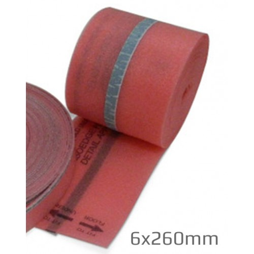 6mm Isorubber IsoEdge Acoustic Perimeter Insulation Strip