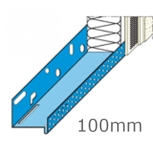 100mm Aluminium Base Track (pack of 10).