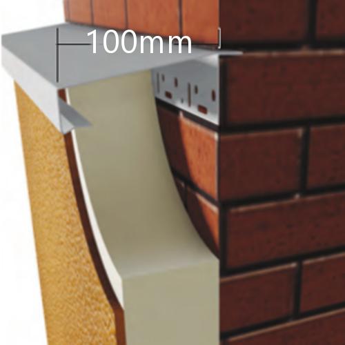 100mm WEC 781 Grind in Verge Trim Profile - 2.5m length