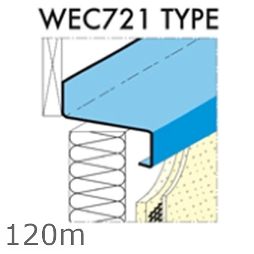 120mm Eaves Flashing, O'sill and Window Sill Extensions (with full end caps-pair) - 2.5m Length.