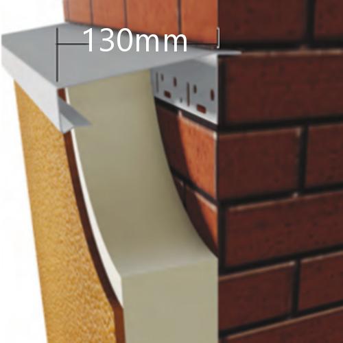 130mm WEC 781 Grind in Verge Trim Profile - length 2.5m
