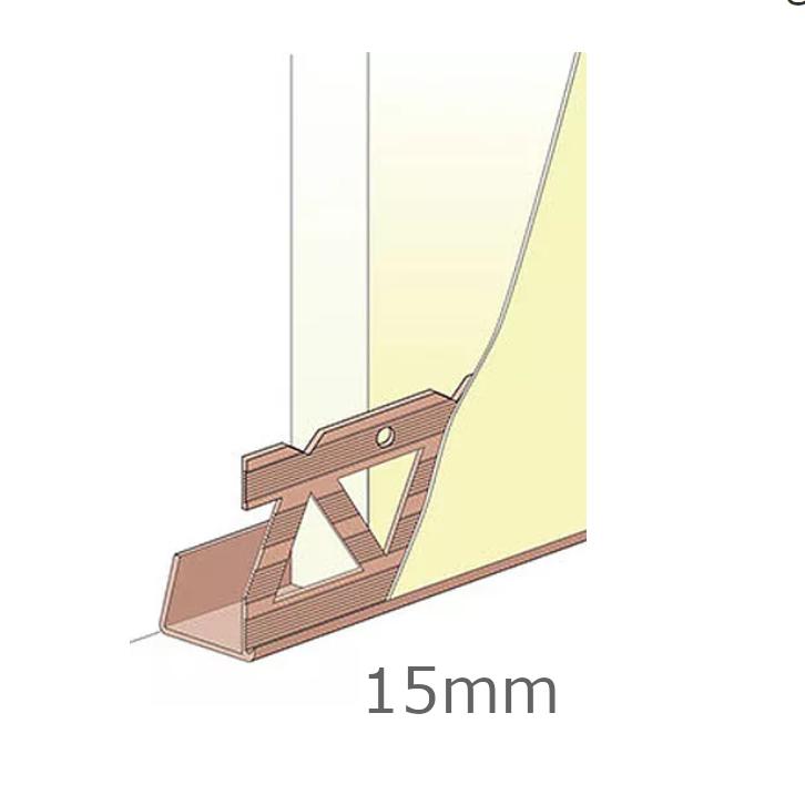 15mm PVC Edge Bead (pack of 25).