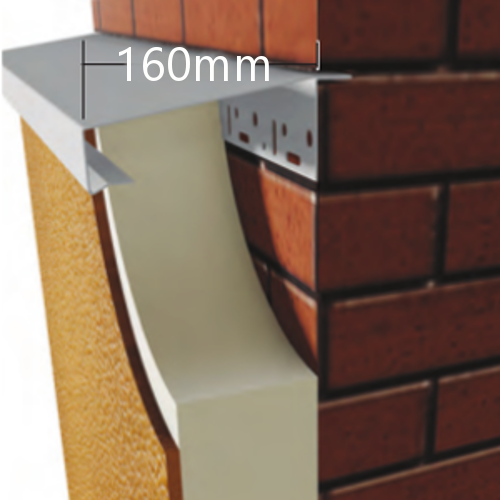 160mm WEC 781 Grind in Verge Trim Profile - 2.5m length