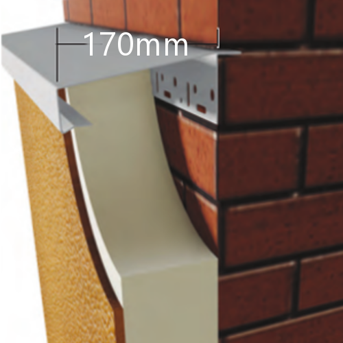 170mm WEC 781 Grind in Verge Trim Profile - 2.5m length