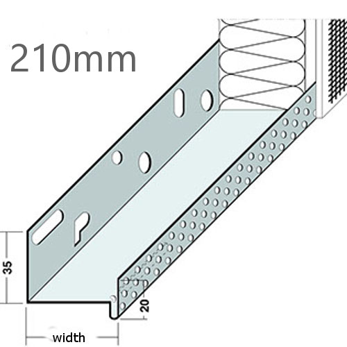 210mm Aluminium Base Track