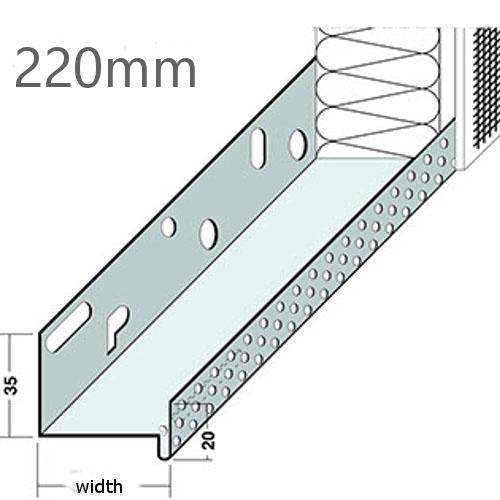 220mm Aluminium Base Track