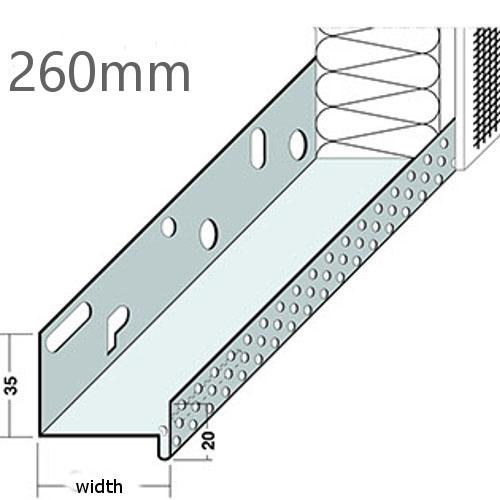260mm Aluminium Base Track