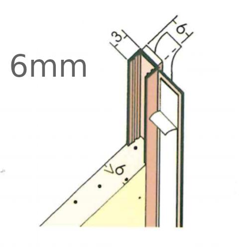 6mm PVC Window Frameseal Beads (pack of 50).