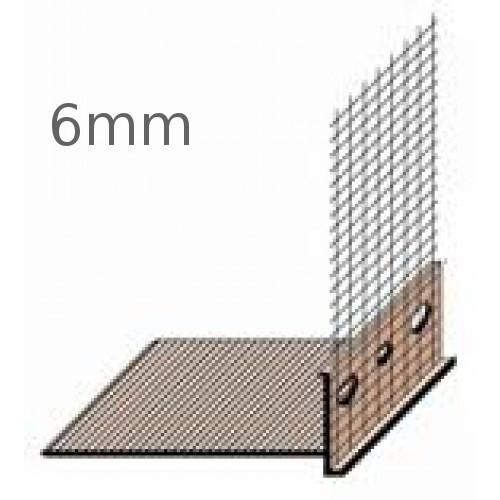 6mm PVC Base Profile - length 2m (pack of 15)