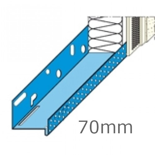 70mm Aluminium Base Track (pack of 10).