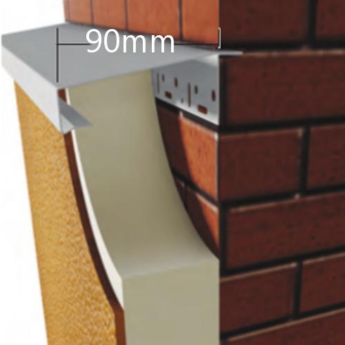 90mm WEC 781 Grind in Verge Trim Profile - 2.5m length