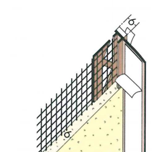 6mm Mesh Wing PVC Window Frameseal Beads (pack of 50).