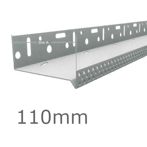 110mm Aluminium Vented Base Track.