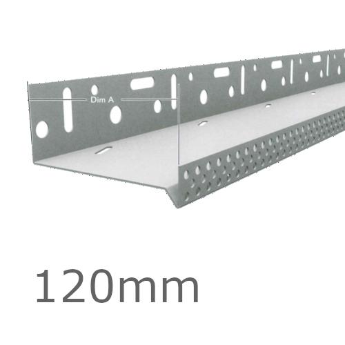 120mm Aluminium Vented Base Track.