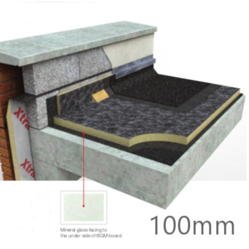 100mm Celotex Tc3000 Flat Roof Board Torch On