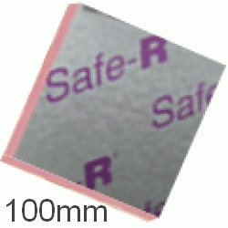 100mm Xtratherm Safe-R Phenolic Insulation Board (pack of 4)