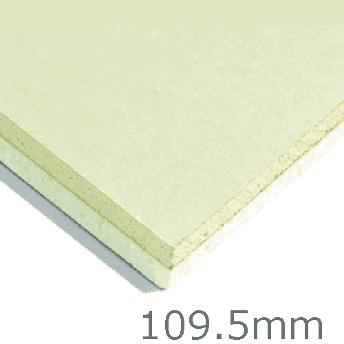 109.5mm Xtratherm XT/TL Thermal Liner Dot and Dab (100mm PIR Insulation bonded to 9.5mm Plasterboard)