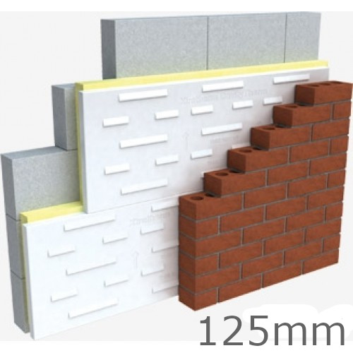 125mm Thin R Ct Pir Cavity Therm Full Fill Insulation Xtratherm Cavity Wall Insulation