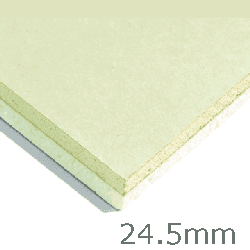 24.5mm Xtratherm XT/TL Thermal Liner Dot and Dab (15mm PIR Insulation bonded to 9.5mm Plasterboard)