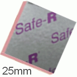 25mm Xtratherm Safe-R Phenolic Insulation Board (pack of 12)