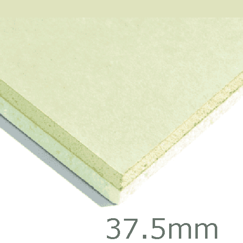 37.5mm Xtratherm XT/TL Thermal Liner Dot and Dab (25mm PIR Insulation bonded to 12.5mm Plasterboard)