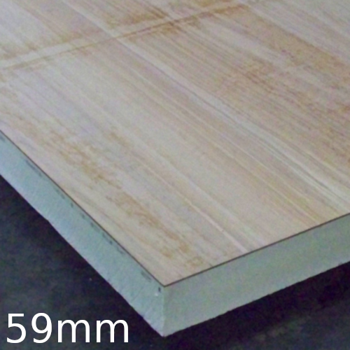 59mm Plydeck Xtratherm (PIR with OSB Board)