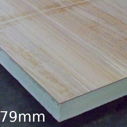 79mm Plydeck Xtratherm Pir Insulation Bonded To Osb Board