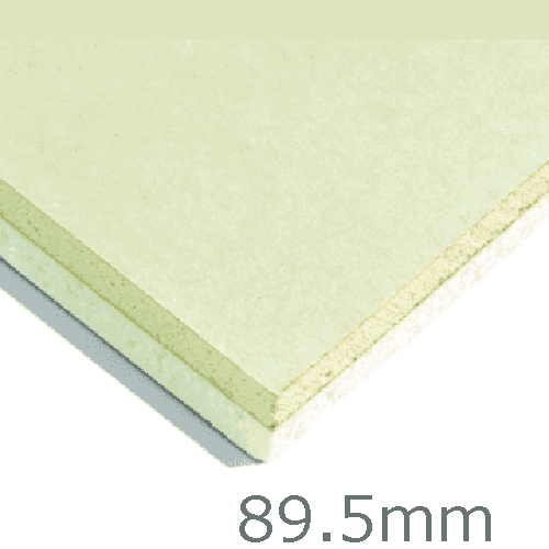 89.5mm Xtratherm XT/TL Thermal Liner Dot and Dab (80mm PIR Insulation bonded to 9.5mm Plasterboard)