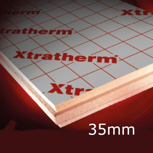 35mm Xtratherm Thin-R XT/CW Partial Fill Cavity Insulation (pack of 9)