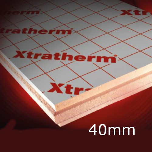 40mm Xtratherm Thin-R XT/CW Partial Fill Cavity Insulation (pack of 9)
