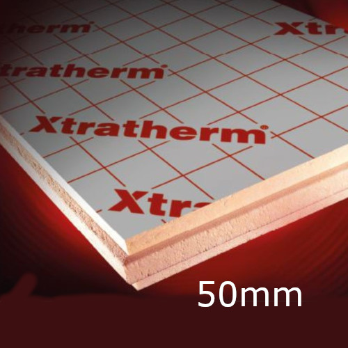 50mm Thin-R XT/CW Partial Fill Cavity Insulation Xtratherm (pack of 9)