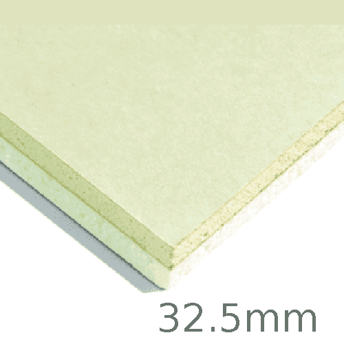 32.5mm Xtratherm XT/TL Thermal Liner Dot and Dab (20mm PIR Insulation bonded to 12.5mm Plasterboard)