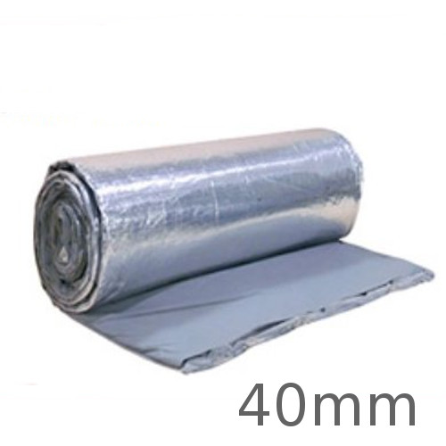 40mm BreatherQuilt - Breathable Insulation for Pitched Roofs