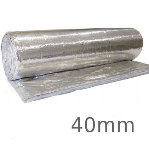 40mm SuperQuilt - Multi-layer Insulation for Roofs, Walls & Floors - 1.2m x 10m roll