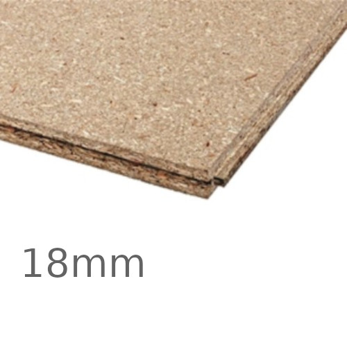 18mm Egger P5 Moisture Resistant Chipboard - 2400mm x 600mm - Tongue and Groove Board
