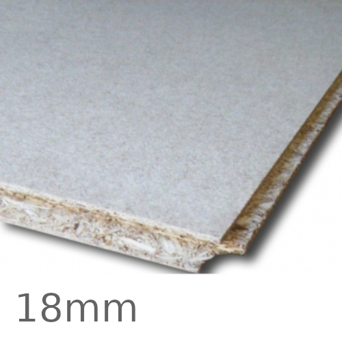 18mm Egger Protect P5 Moisture Resistant Chipboard - 2400mm x 600mm - Tongue and Groove Board