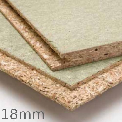 18mm Kronospan P5 Moisture Resistant Flooring Grade Chipboard TG4 - 2400mm x 600mm