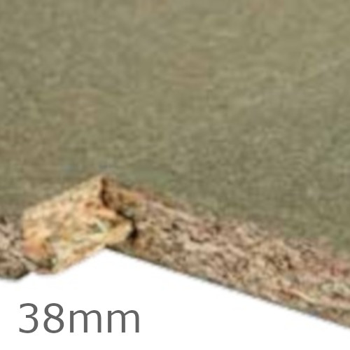 38mm Unilin P5 Moisture Resistant Chipboard - 2400mm x 600mm - TG2