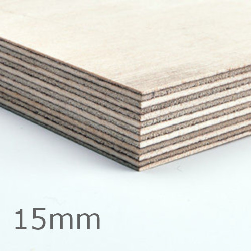 15mm Russian Birch Plywood BB/CP - 2440mm x 1220mm - FSC Certified