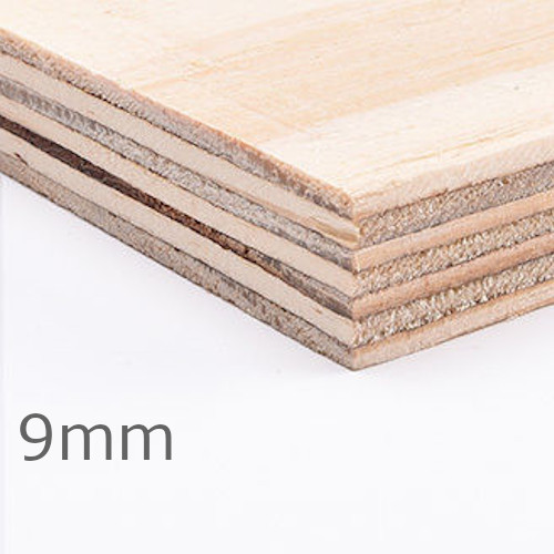 9mm Elliottis Pine Softwood Plywood C+/C CE2+ - 2440mm x 1220mm - FSC Certified
