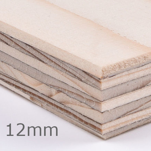 12mm Wisa Spruce Plywood Special CE2+ - 2440mm x 1220mm - FSC Certified