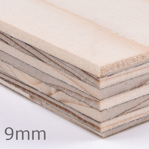 9mm Wisa Spruce TG4 Plywood Special CE2+ - 2440mm x 1220mm - FSC Certified