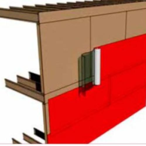 100mm Wraptite Tape - 50m - External Air Barrier Tape