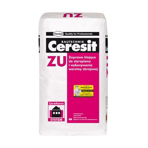 Ceresit ZU Insulation and Mesh Adhesive (Base Coat Render) - Pallet of 48 bags