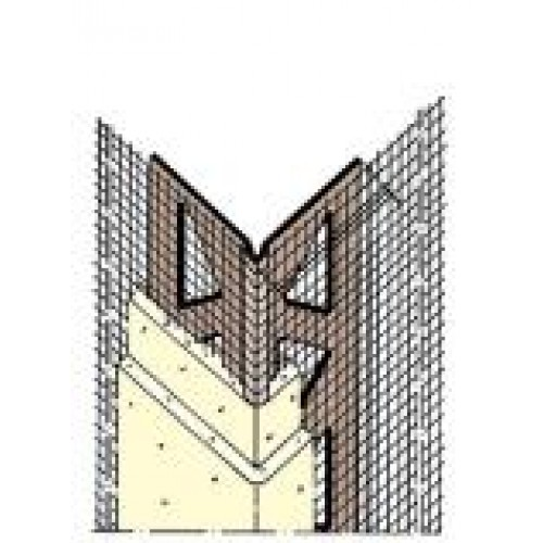 Mesh wing PVC Corner Profile 50m Roll