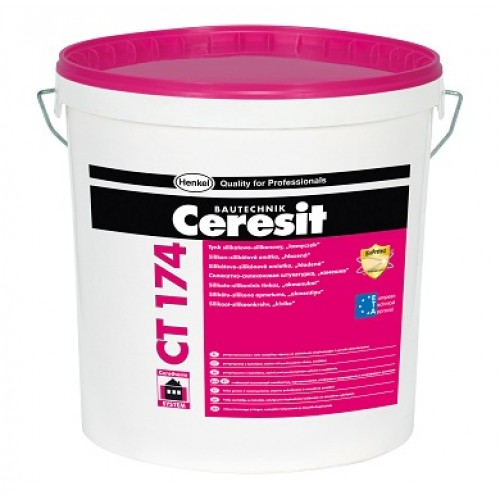 Ceresit CT174 Silicate-Silicone Render 1.5mm grain