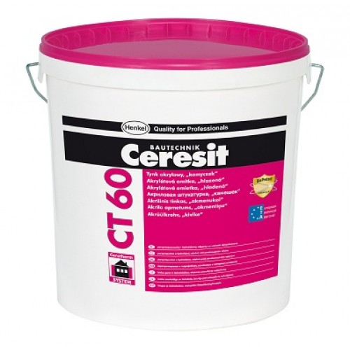 Ceresit CT60 Acrylic Render 1.5 mm grain